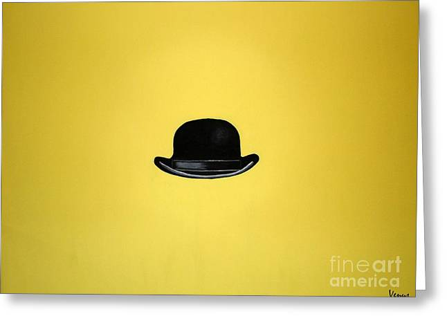 Symbolism Of The Hand Greeting Cards - Mr. Brightside Greeting Card by Venus