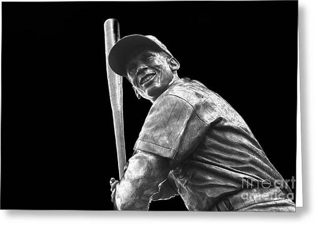 Most Valuable Player Greeting Cards - Mr. Cub Greeting Card by David Bearden
