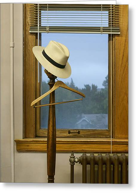 Indoor Still Life Greeting Cards - Mr. Dalys Hat Greeting Card by Nikolyn McDonald