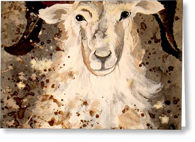 Mrs MAry Greeting Card by Amy Sorrell