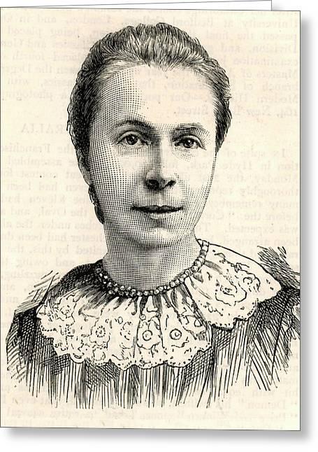 Mrs Sophia Bryant Greeting Card by Universal History Archive/uig
