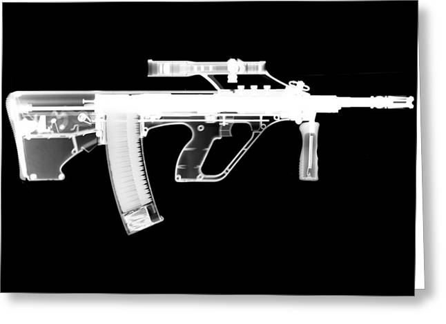 Unique Gifts Greeting Cards - Msar STG-556 Reversed Greeting Card by Ray Gunz