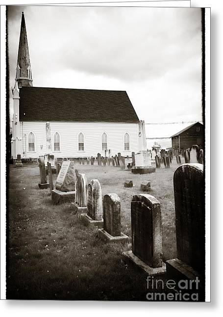 Mt. Airy Greeting Cards - Mt. Airy Presbyterian Church Greeting Card by John Rizzuto
