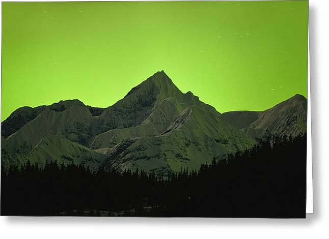 Princes Greeting Cards - Mt. Gilbert Greeting Card by Ted Raynor