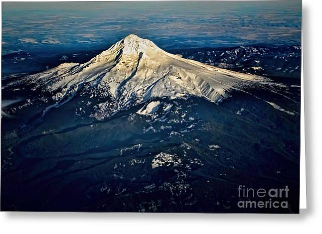 Mt Hood Greeting Card by Jon Burch Photography