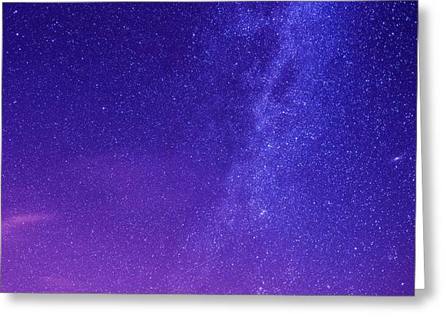 Mt. Hood Milky Way 01 Greeting Card by Lori Grimmett