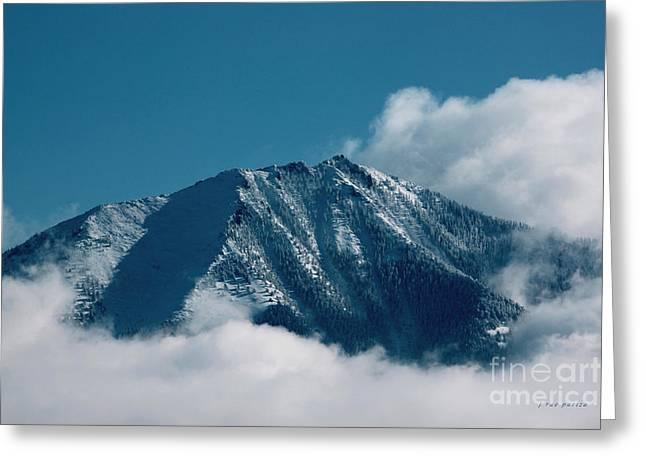 North Fork Greeting Cards - Mt Lamborn Colorado Greeting Card by Janice Rae Pariza