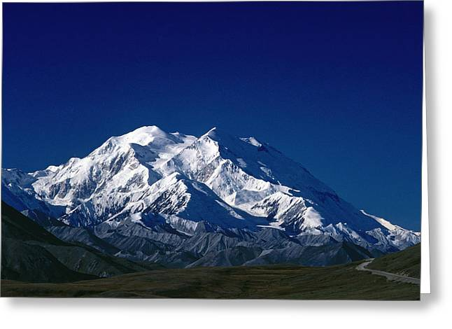 Beautiful Scenery Greeting Cards - Mt Mckinley Denali National Park Greeting Card by Grant Klotz