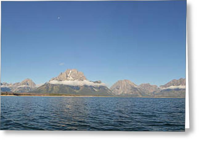 Large Scale Greeting Cards - Mt Moran Greeting Card by Thomas and Thomas Photography