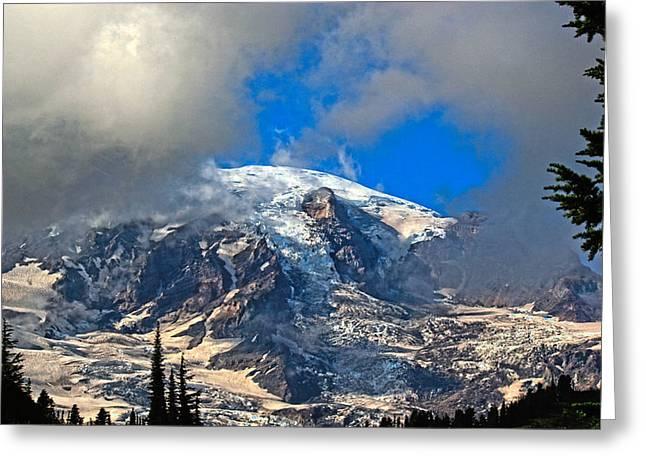 Mt. Rainier 3 Greeting Card by Paul Shefferly