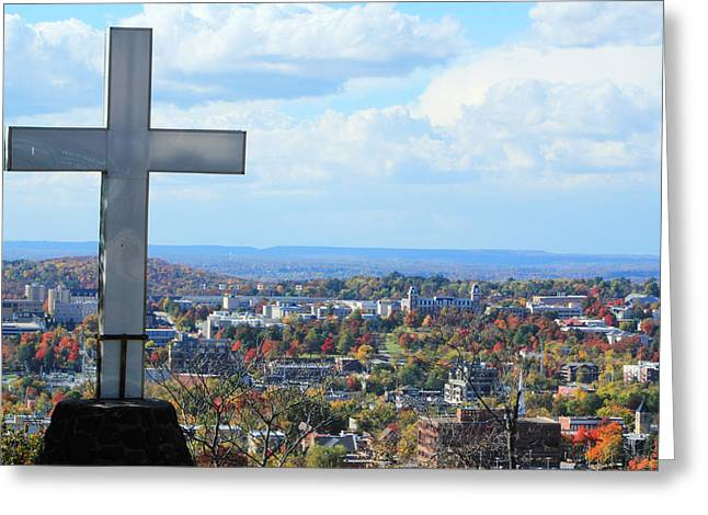Mt. Sequoyah - Fayetteville, Ar Greeting Card by Jon Cotroneo