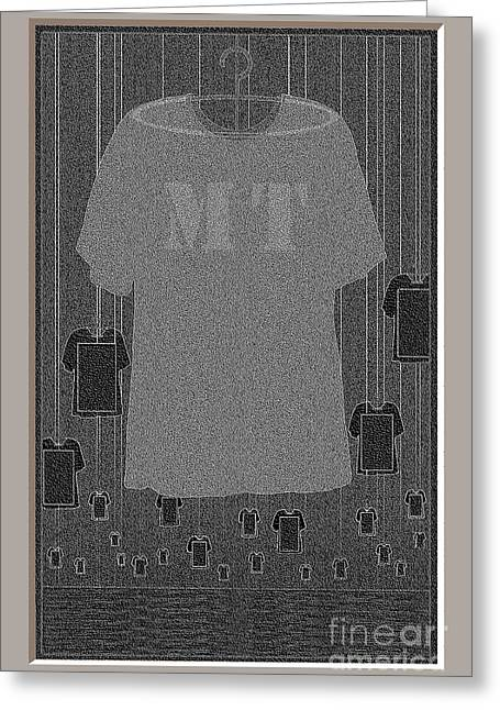 As Far As The Eye Can See Greeting Cards - M T Tee Shirts At Night Greeting Card by Doris Rowe