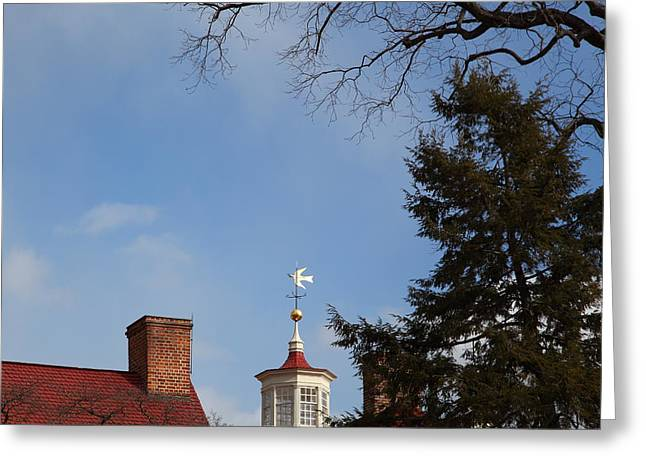 Mount Photographs Greeting Cards - Mt Vernon - 01135 Greeting Card by DC Photographer