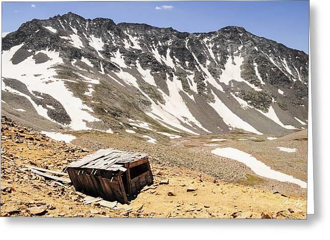 El Diente Greeting Cards - Mt. Wilson and El Diente Peak Greeting Card by Aaron Spong