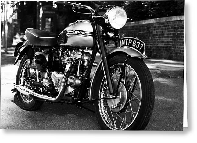 Motorcycles Greeting Cards - Mtp 637 Greeting Card by Mark Rogan