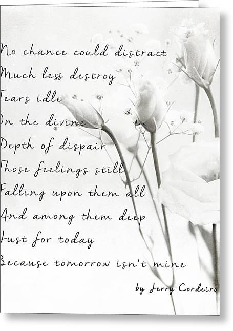Mix Medium Greeting Cards - Much Less Destroy  Greeting Card by Jerry Cordeiro