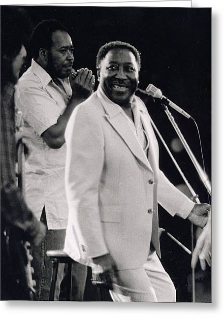 Muddy Waters Greeting Cards - Muddy Waters Greeting Card by Nomad Art And  Design