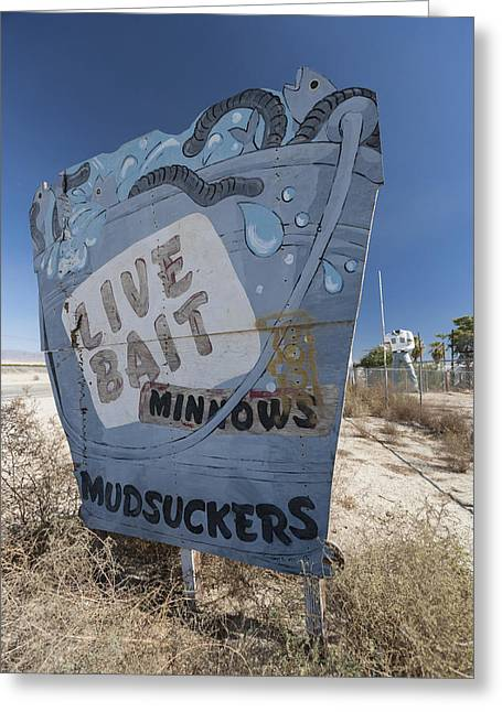 Abandoned Greeting Cards - Mudsuckers Greeting Card by Scott Campbell