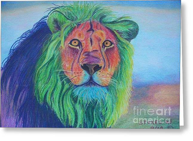 Majestic Pastels Greeting Cards - Mufsa Greeting Card by Robert Stokes