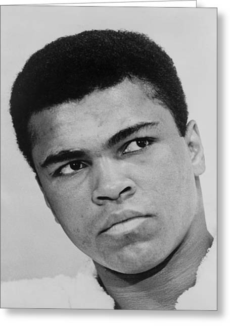 Black Man Digital Art Greeting Cards - Muhammad Ali Greeting Card by Ira Rosenberg