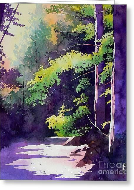 Hiking Greeting Cards - Muir Woods Greeting Card by Robert Hooper