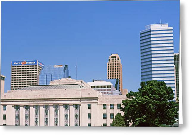 Municipal Greeting Cards - Municipal Building In The Downtown Greeting Card by Panoramic Images