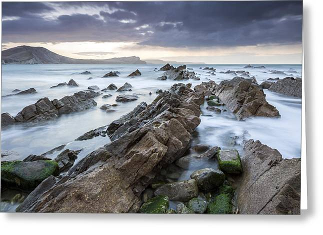 West Country Greeting Cards - Mupe Bay Greeting Card by Sebastian Wasek