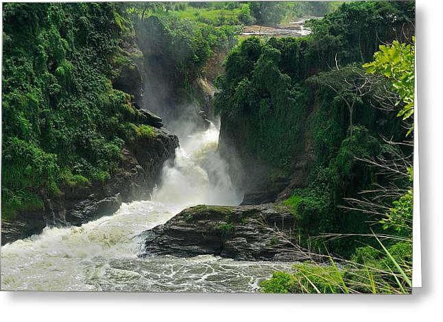 Stefan Carpenter Greeting Cards - Murchison Falls Greeting Card by Stefan Carpenter