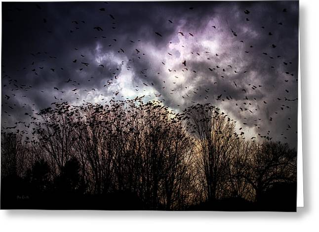 Dreamscape Art Greeting Cards - Murder Once A Year Greeting Card by Bob Orsillo