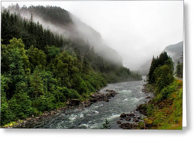 Murmur Of The River  Greeting Card by Julia Fine Art And Photography