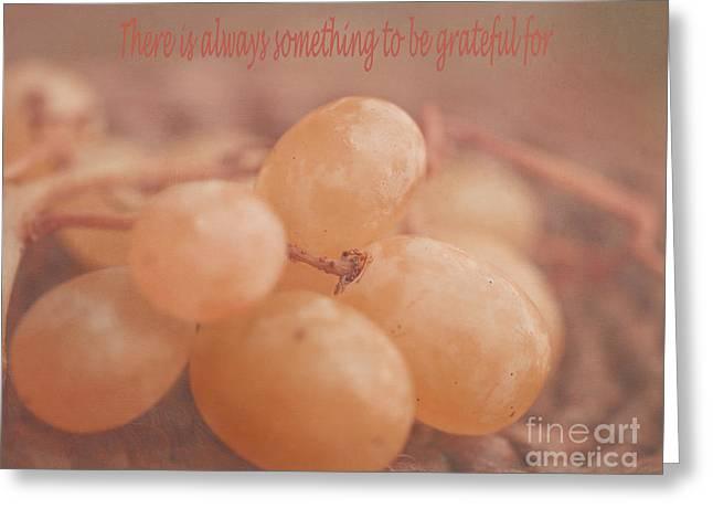 White Grape Photographs Greeting Cards - Muscat Aroma Greeting Card by Irina Wardas