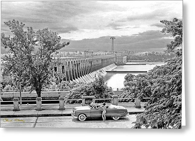 Tennessee River Greeting Cards - Muscle Shoals Greeting Card by Chuck Staley