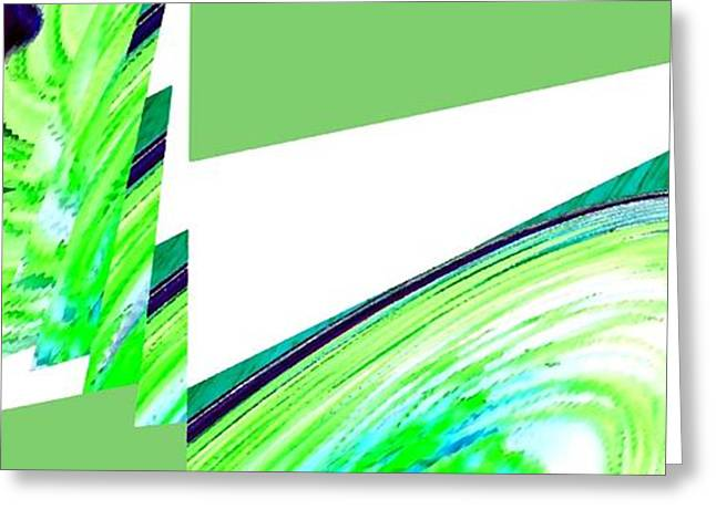 Geometric Design Greeting Cards - Muse 44 Greeting Card by Will Borden