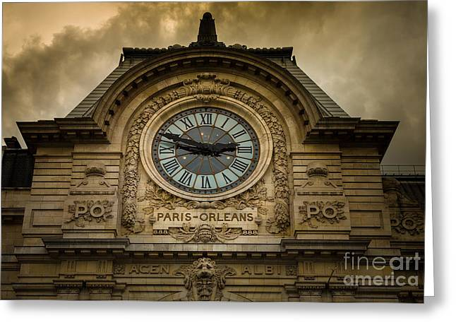 Europa Greeting Cards - Musee Orsay Greeting Card by Inge Johnsson