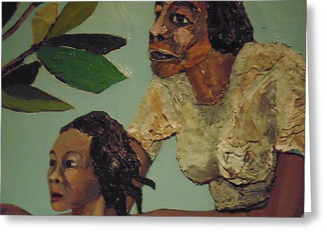 African-american Institute Greeting Cards - Museum Art Greeting Card by Dotti Hannum