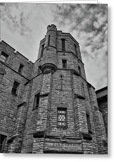 Best Sellers -  - Appleton Art Greeting Cards - Museum at the Castle  8301 Greeting Card by Guy Whiteley