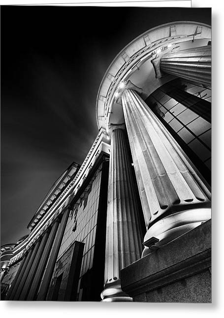 Buildings Greeting Cards - Museum Greeting Card by Ivan Vukelic
