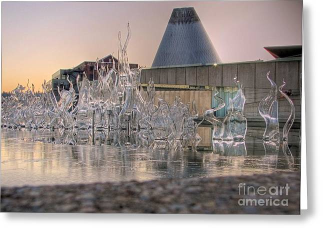 Tonemapping Greeting Cards - The Museum of Glass Greeting Card by Chris Anderson