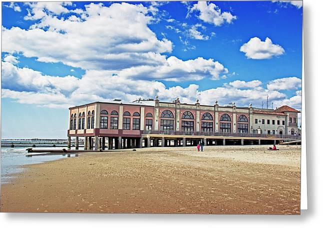 Music Pier Greeting Card by Tom Gari Gallery-Three-Photography