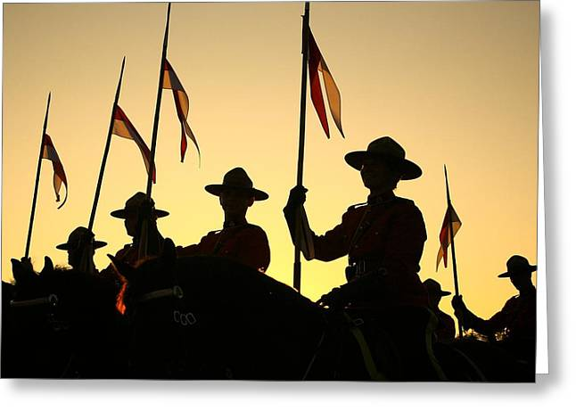 Musical Ride Greeting Card by Chris Dutton