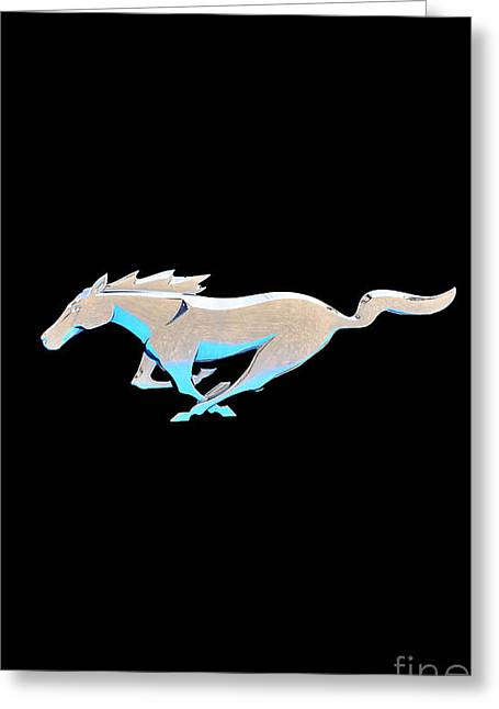 Al Powell Photography Usa Greeting Cards - Mustang in Motion Greeting Card by Al Powell Photography USA