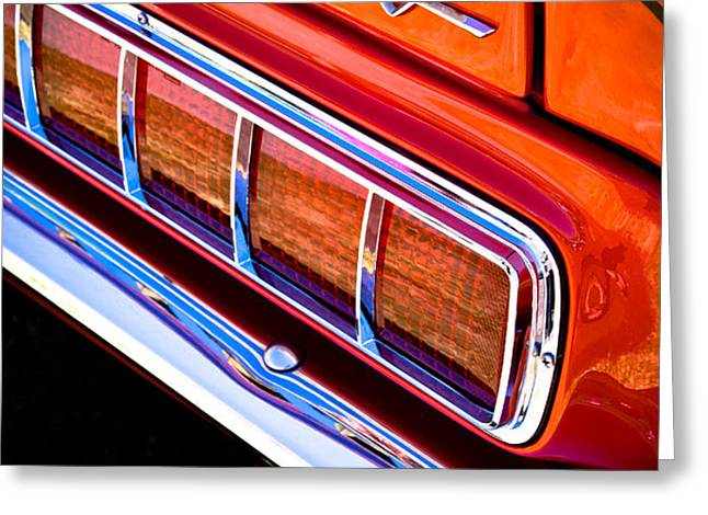 Mustang Mach 1 Greeting Card by Phil 'motography' Clark