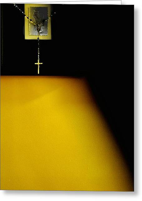 Recently Sold -  - Rosary Greeting Cards - Mustard Seed Greeting Card by Jill Jacobs