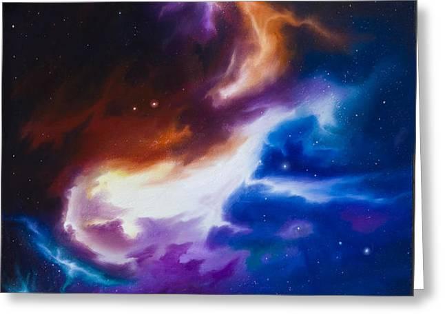 Mutara Nebula Greeting Card by James Christopher Hill
