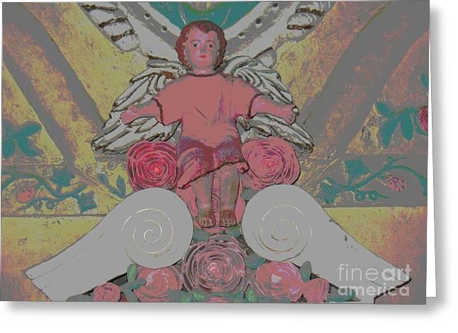 My Ocean Greeting Cards - My Angel - Eglise De Sainte Anne - Church - Ile De La Reunion - Reunion Island Greeting Card by Francoise Leandre