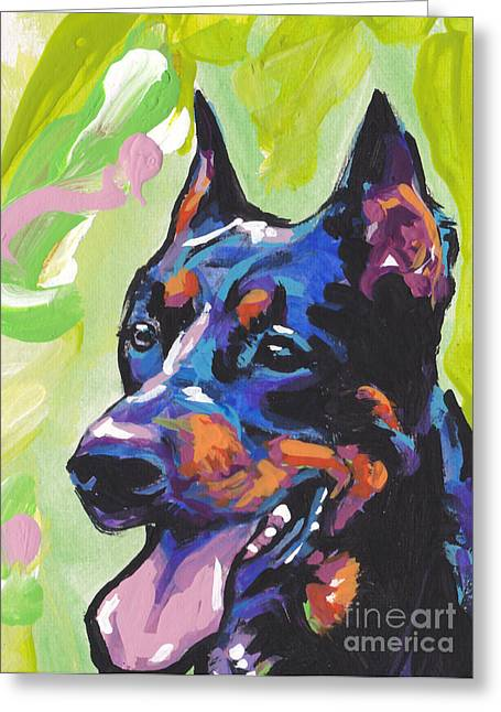 Playroom Greeting Cards - My Beau Greeting Card by Lea