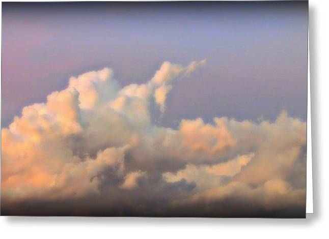 The Followers Greeting Cards - My Beautiful clouds Greeting Card by Henry Adams