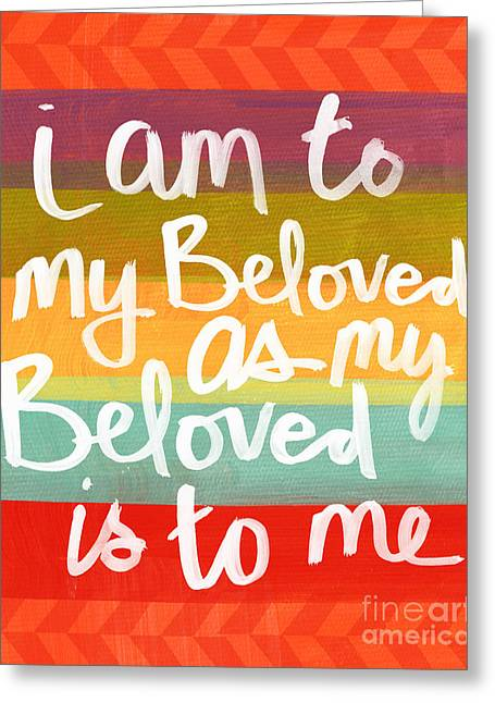 Beloved Greeting Cards - My Beloved Greeting Card by Linda Woods