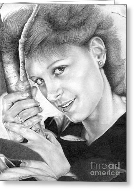 Photo-realism Greeting Cards - My Bestest Friend Evah Greeting Card by Sheryl Unwin