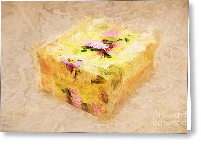 Treasure Box Greeting Cards - My Box Of Secrets Greeting Card by Andee Design